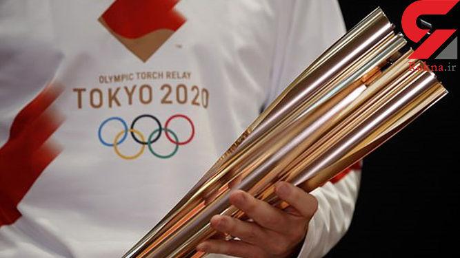 ۵۵ هزار ژاپنی مشعل المپیک را تماشا کردند