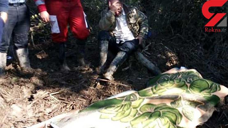 3 روز جستجو برای پیدا کردن جسد زنی که قربانی سیل گلوگاه شده بود