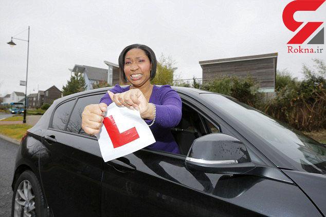 شکستن رکورد 14 ساله یک زن در آموزش رانندگی
