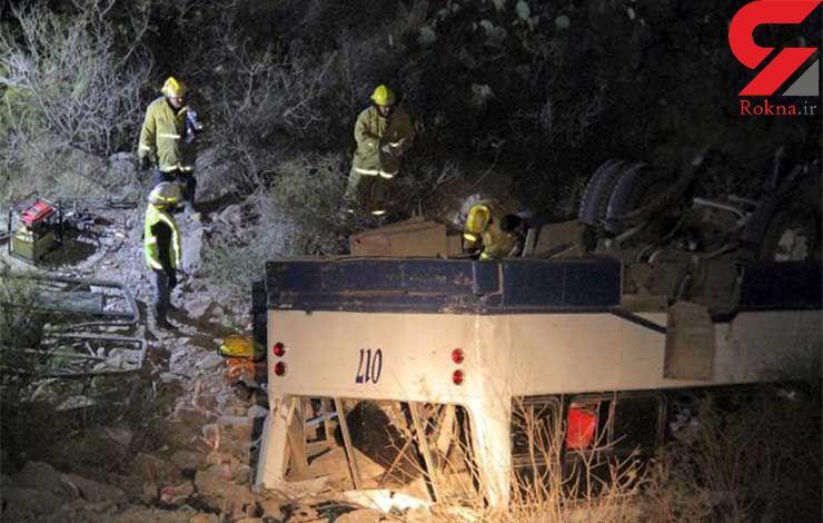 10 کشته و 26 مجروح در تصادف مکزیک