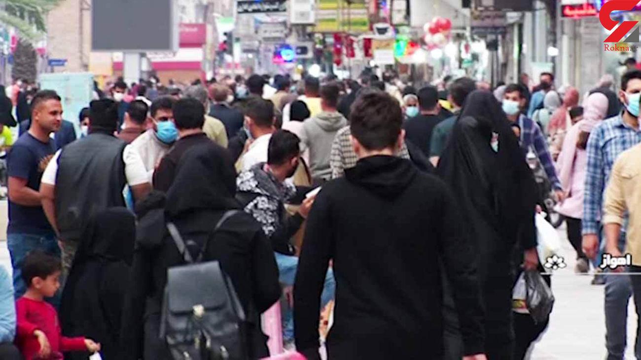 این بازار شلوغ در ایران کرونا می فروشد + فیلم تاسف آور