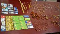 دستگیری سارق با یک کیلو طلا در اصفهان
