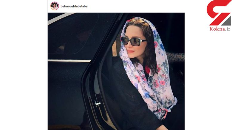 ماشین لاکچری خانم بازیگر ایرانی! +عکس