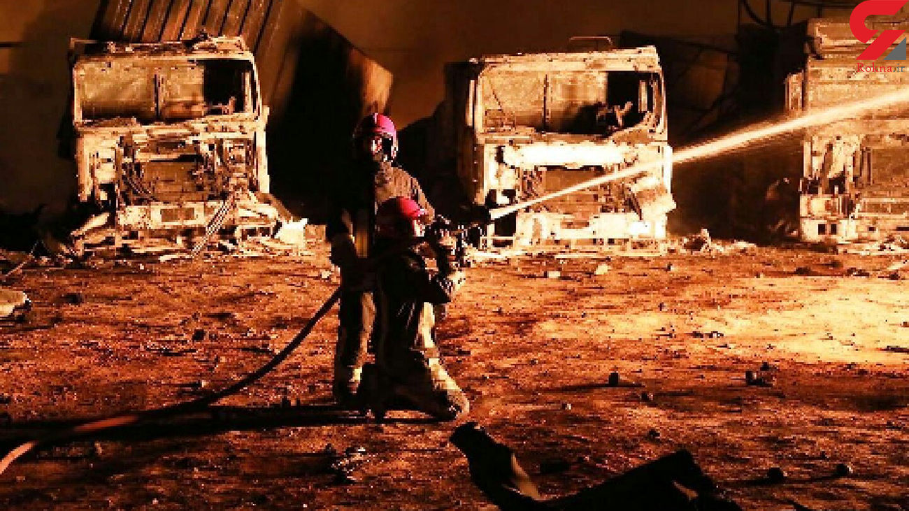 آتش سوزی بزرگ گمرک ادامه دارد / افغانستان از ایران کمک خواست  + فیلم