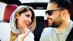 تبریک عاشقانه خواننده ایرانی به مناسبت سالگرد ازدواج با همسر دومش
