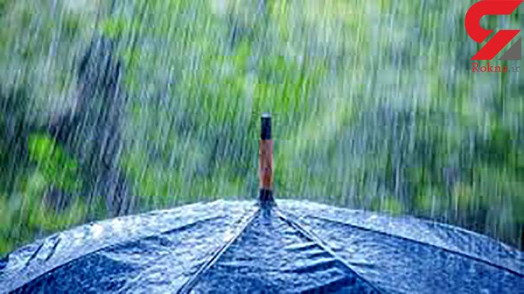 بارش باران در تهران و بسیاری نقاط کشور