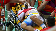 فیلم تصادف شدید 3 دوچرخه سوار بدشانس در  مسابقه ریو 2016+تصاویر