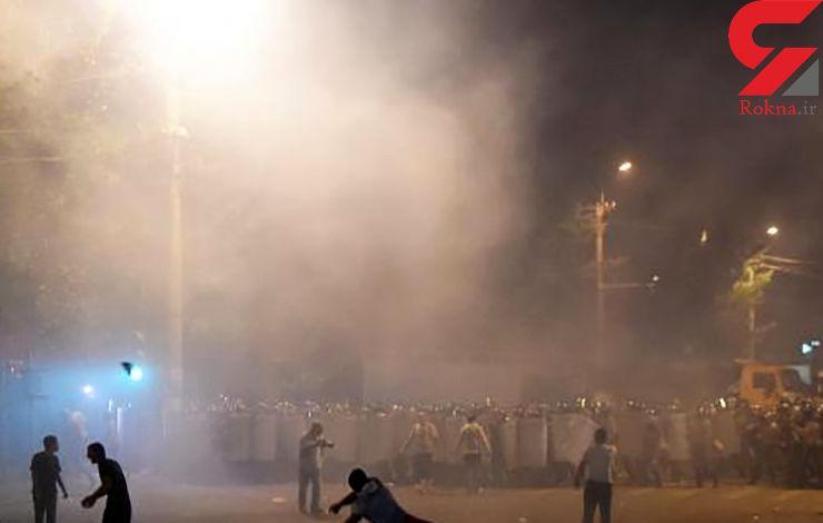 ادامه درگیریهای خشونت آمیز در ایروان