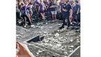 5 زخمی در حادثه کنسرت موسیقی+عکس