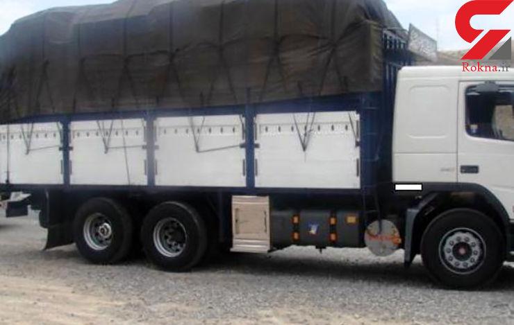 حمل 25 تن برنج قاچاق با مدارک جعلی