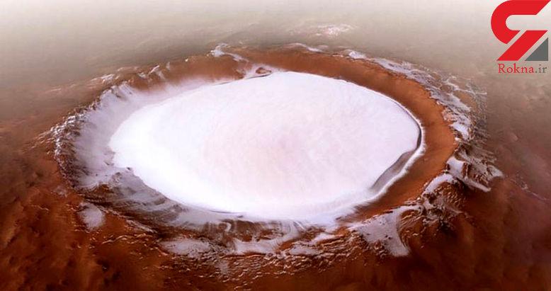 اسکی روی یخ در مریخ؛رویایی که محقق شد+ عکس