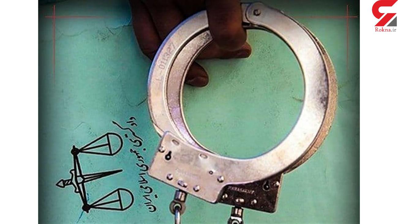 بازداشت سگ آزار در آشتیان / یک فیلم او را لو داد