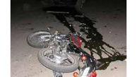 مرگ موتورسوار در تصادف جاده مرزی گنبدکاووس