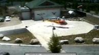 سقوط هلیکوپتر تنها ۳۲ ثانیه پس از پرواز + فیلم