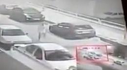 پسر پورشه سوار اوباش تخریبگر خودروهای تهرانی ها بود + فیلم گفتگو
