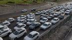 ترافیک پرحجم و روان در برخی از محورهای مواصلاتی کشور
