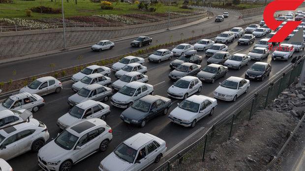 ترافیک نیمه سنگین در برخی از محورهای مواصلاتی کشور