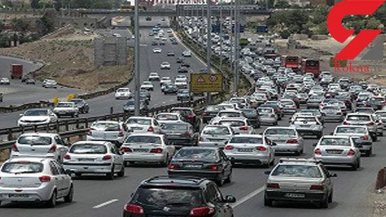 وضعیت ترافیک معابر تهران در صبح شنبه