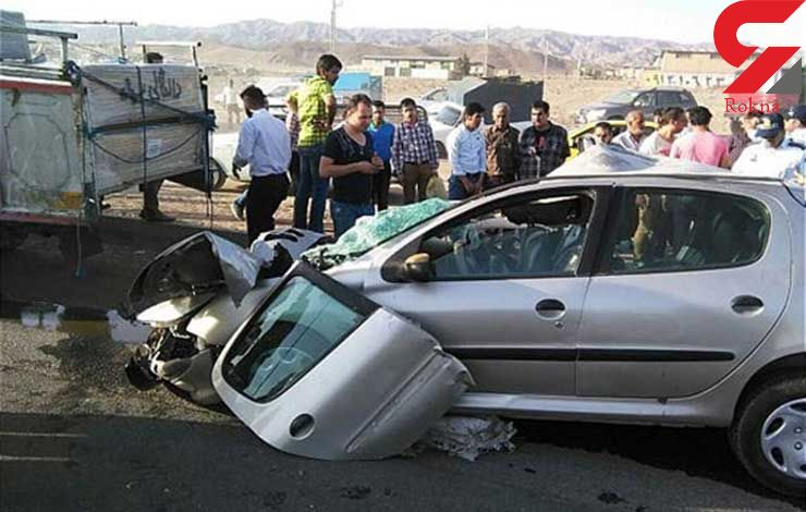 برخورد ۲ دستگاه خودرو در همدان ۶ کشته و مجروح برجا گذاشت