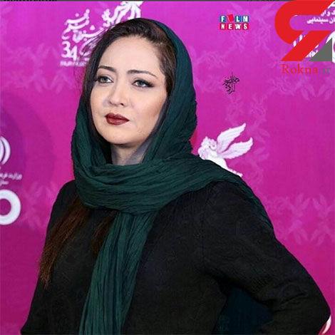 نیکی کریمی در افتتاحیه جشنواره فجر