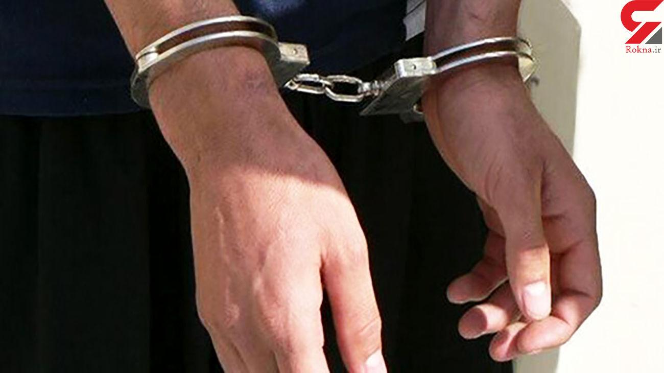 سارق پراید در ممسنی دستگیر شد