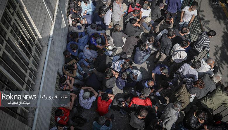 انتقال معتادان متجاهر به زندان فشافویه در مرتبه دوم دستگیری /مراکز ماده 16 مکانی برای ترک معتادان خیابان خواب