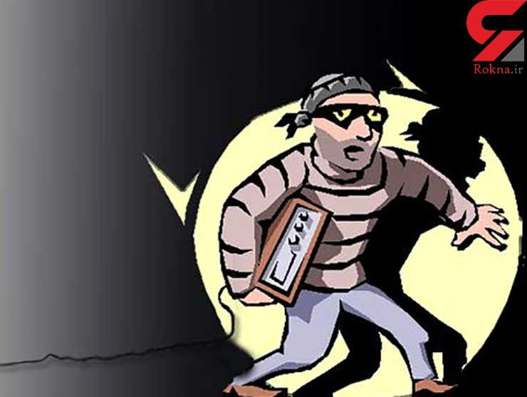 دزد ناشی، جانی فراری شد