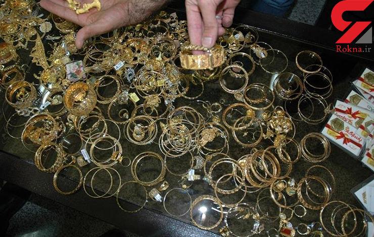 عملیات ویژه برای دستگیری دزد 4 کیلو طلا در خانه پدری اش+عکس