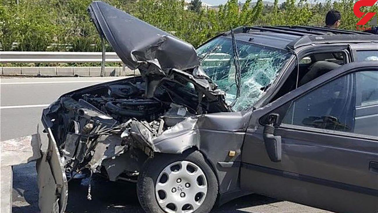 تصادف مرگبار در سبزوار / یک کشته و 2 زخمی