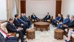 بشار اسد: شرایط منطقهای و بینالمللی برای سوریه و عراق به شکل مثبت در حال تغییر است
