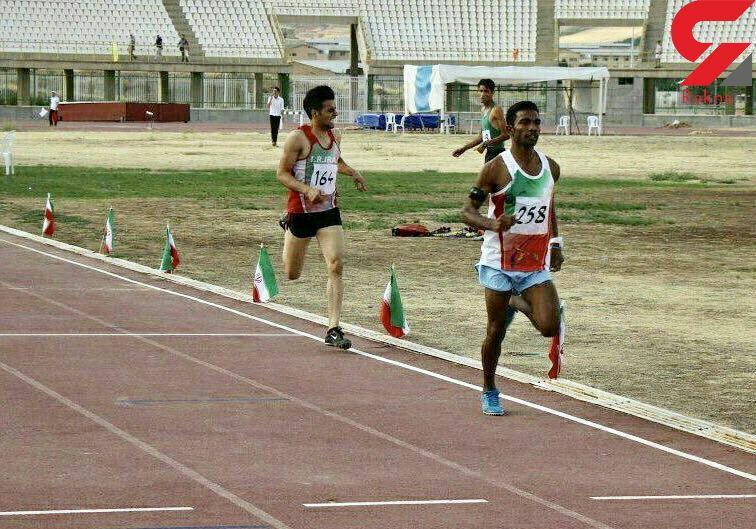 دونده سیستان و بلوچستان نایب قهرمان کشور شد