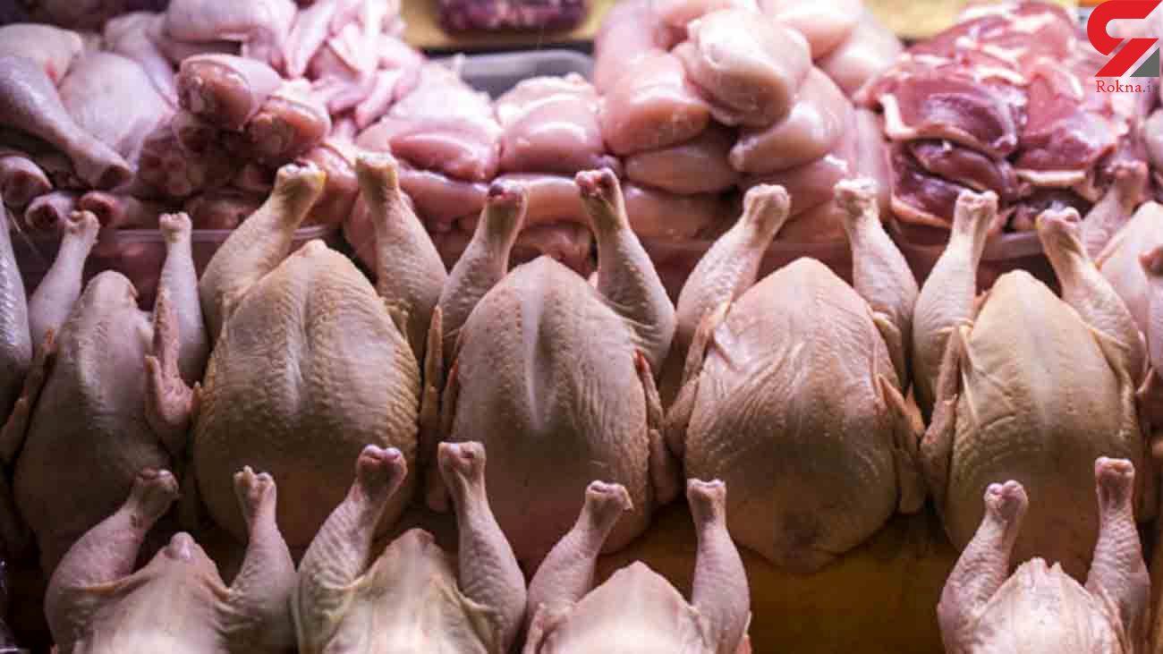 قیمت مرغ در بازار دوشنبه 4 شهریور 99 + جدول