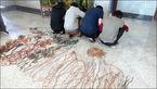 اعتراف باند سارقان به ۳۰ فقره سرقت کابل های فشار قوی