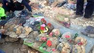 مستندات ناایمنی محل واژگونی اتوبوس حامل سربازان در نیریز فارس منتشر شد