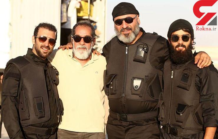 بازیگرانی با ریش های داعشی +عکس