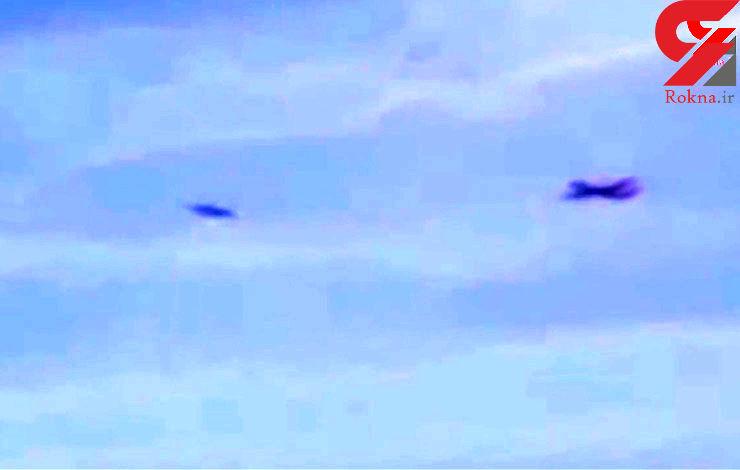 حمله جنگنده ها به بشقاب پرنده در آسمان هند + فیلم و تصویر
