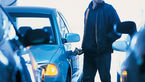 تمام شدن بنزین خودروی لوکس کار دست دزد سابقه دار داد