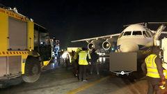 تصادف خودرو با هواپیما در فرودگاه مهرآباد+ عکس