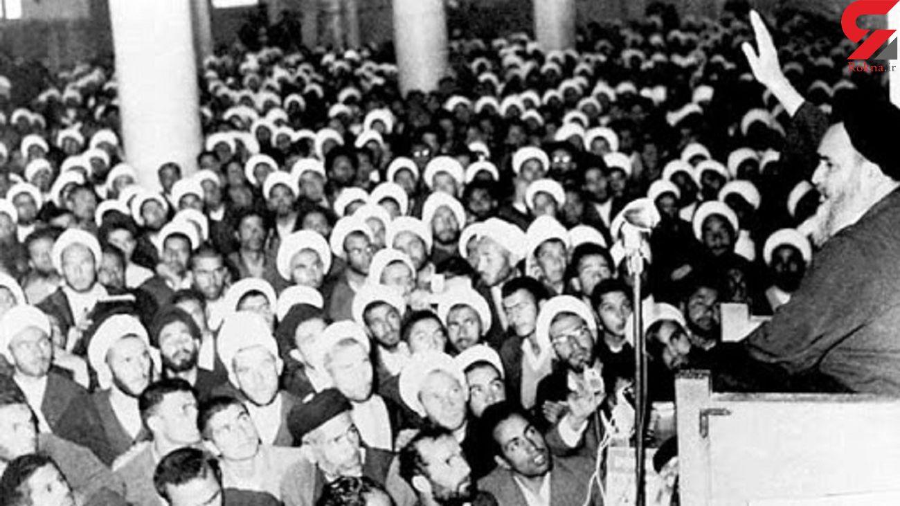 امام خمینی با چه روشی توطئه رژیم پهلوی در فروردین ۴۳ را خنثی کرد؟