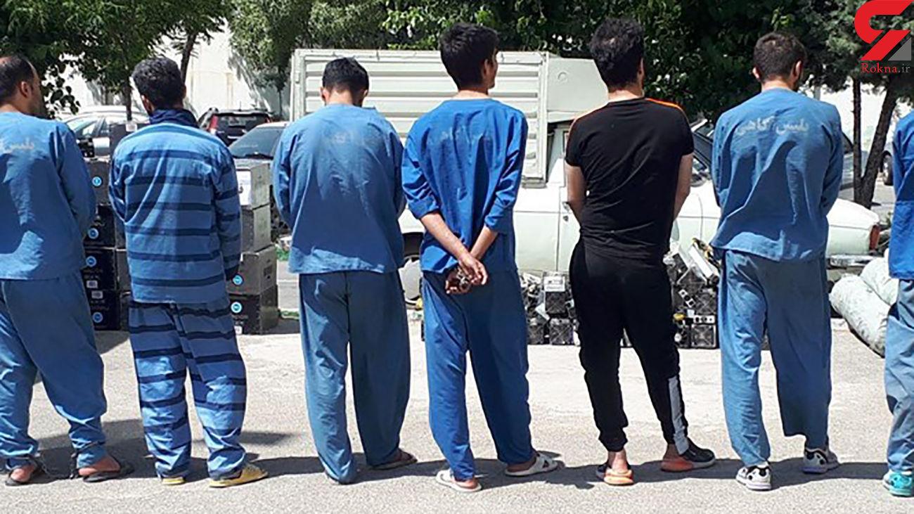 دستگیری 10 تن از  متهمان تحت تعقیب قضائی در فلاورجان