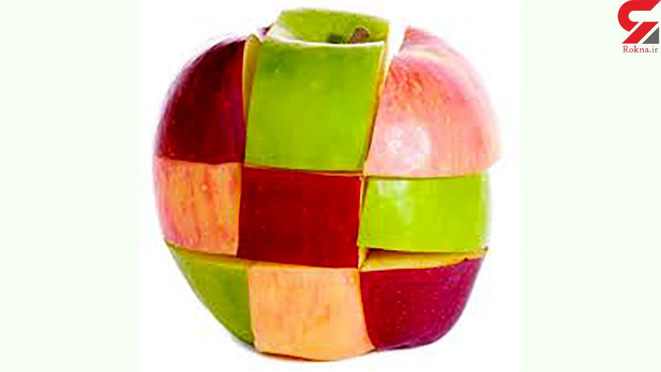 سیب را با پوست بخورید / چربی سوزی قوی
