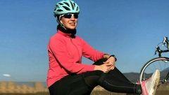 حمله به زن دوچرخه سوار ایرانی هنگام تمرین در خیابان + عکس