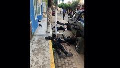 قتل عام مسلحانه 6 پلیس برای فراری دادن زندانی ها! + عکس جنازه ها
