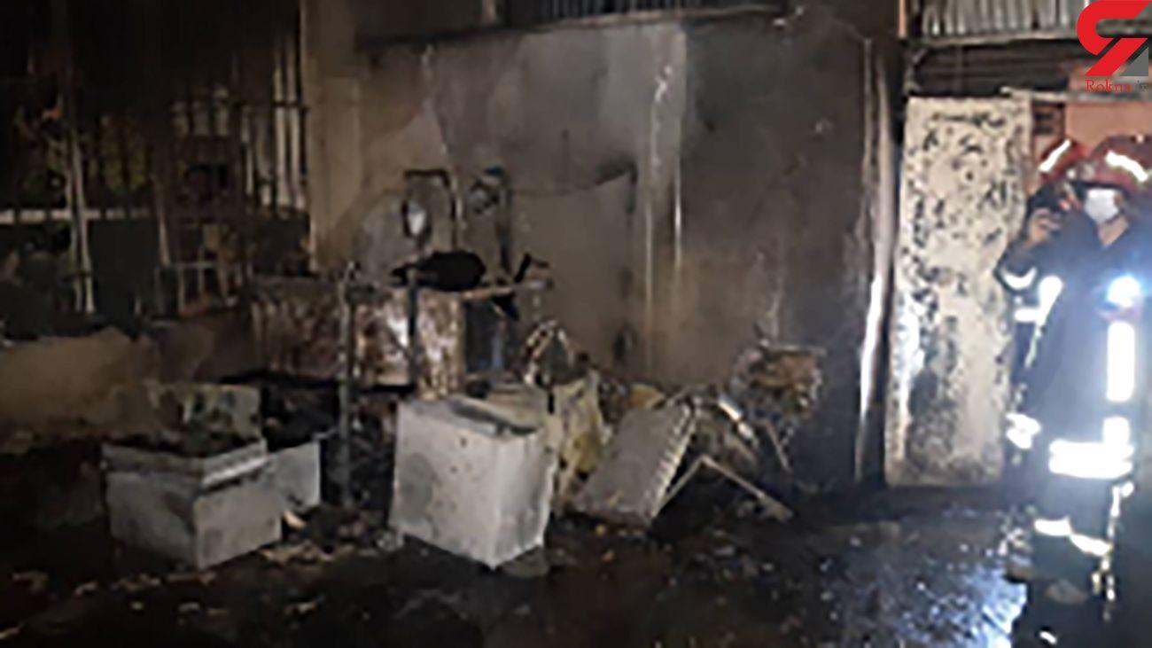 انفجار بزرگ در ساختمان مسکونی/ مرد شیرازی زنده زنده سوخت