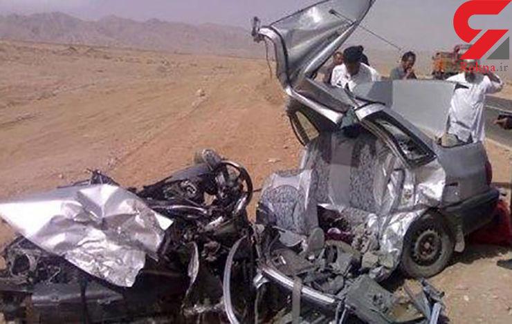 9 کشته و مجروح در تصادف پراید و تیبا+عکس