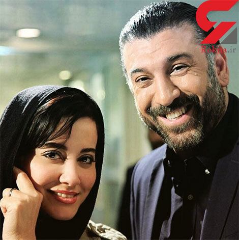 علی انصاریان و آشا محرابی در یک قاب