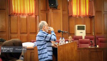 عکس های انتشار نیافته از دادگاه نجفی