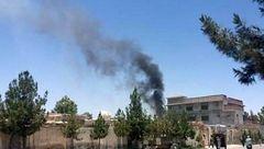 مردان ناشناس یک مسجد را به آتش کشیدند + عکس
