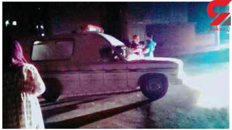 عروس جوان مازنی کشته شد / تازه داماد فراری است+عکس