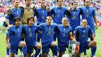 تیم ملی ایتالیا در انتظار بازی با ایران